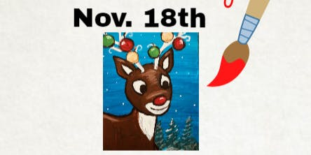 Creekside Fundraiser Holiday Paint  w/Painter's Soiree