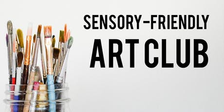 Sensory-Friendly Art Club tickets