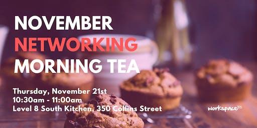 November Networking Morning Tea - 350 Collins