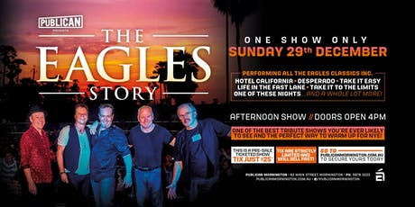 The Eagles Story LIVE at Publican, Mornington! tickets