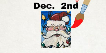 Dec 2nd Creekside Fundraiser Holiday Paint  w/Painter's Soiree