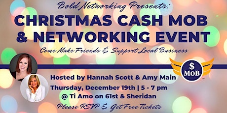 Bold Christmas Cash Mob & Networking Event tickets
