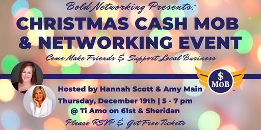 Bold Christmas Cash Mob & Networking Event