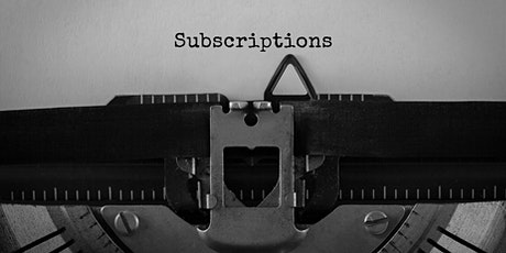 Subscribed with Zuora:  Subscription-based Businesses are Booming tickets