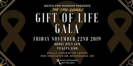 Match for Marrow 3rd Annual Gift of Life Gala tickets
