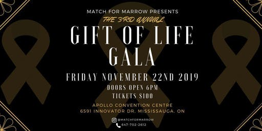 Match for Marrow 3rd Annual Gift of Life Gala