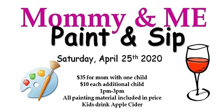 Mommy & Me Paint and Sip tickets