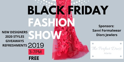 Black Friday Fashion Show & Sale