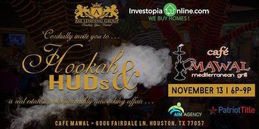 Hookah & HUDs | A Real Estate Investor Mixer | Cafe Mawal
