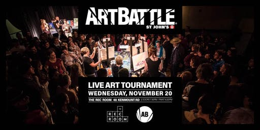 Art Battle St. John's - November 20, 2019