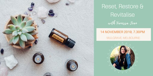 Rest, Restore and Revitalise 14/11/19