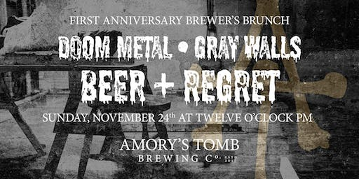 Amory's Tomb Anniversary Brunch