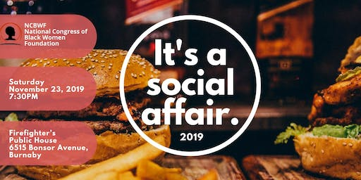 It's A Social Affair 2019 ! | Presented by The NCBWF