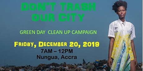 Green Day Clean Up Campaign tickets