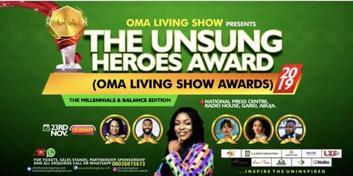 THE OMA LIVING SHOW UNSUNG HEROES AWARDS