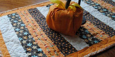 Seasonal Table Runner Class