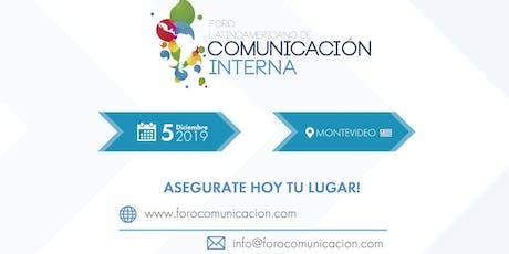 Foro Latinoamericano de Comunicación Interna entradas