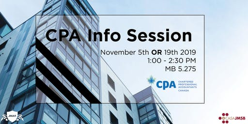 CPA Info Session