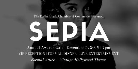 SEPIA: Dallas Black Chamber of Commerce Annual Awards Gala tickets