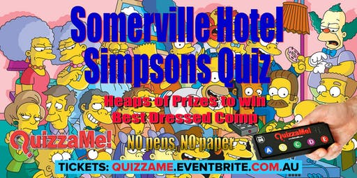 Somerville Hotel Simpsons Trivia