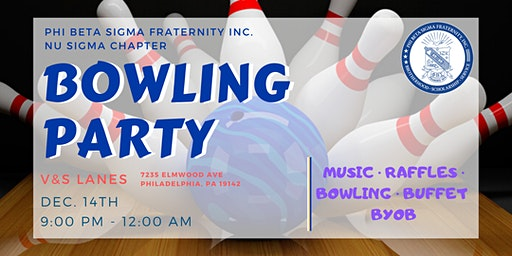 Nu Sigma Bowling Party