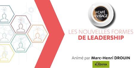 Café du Village - Nouvelles formes de leadership billets