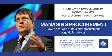Managing Procurement: How To Deal With Professional Procurement | Melbourne tickets