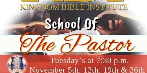 School of The Pastor