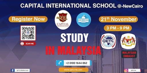 Study in Malaysia University Fair @Capital International School-Egypt