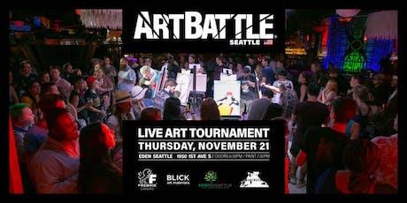 Art Battle Seattle - November 21, 2019 tickets
