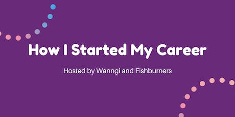 How I Started My Career as an Entrepreneur tickets