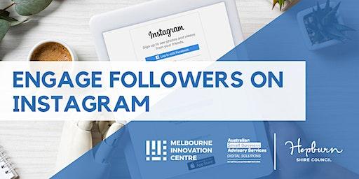Engage Real Followers on Instagram - Hepburn