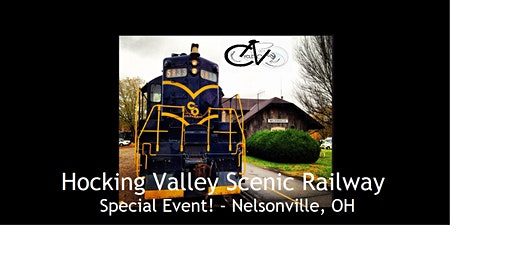 SE! - Hocking Valley Scenic Railway - 1 hour train ride/tour - Ohio