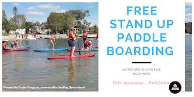 FREE Stand Up Paddle Boarding - Bargara