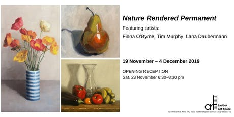Opening invitation: 'Nature Rendered Permanent' tickets