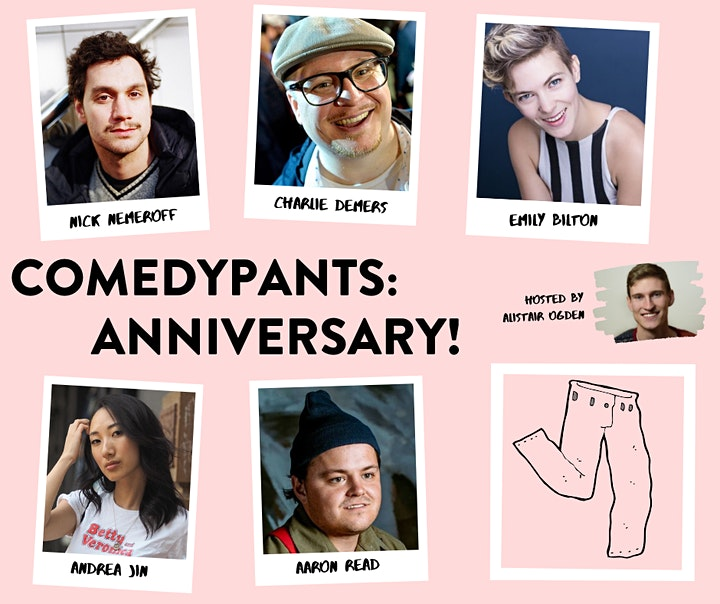 Comedy Pants: Anniversary! (LATE SHOW ADDED) image