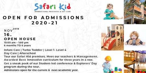 Open House- Safari Kid Sadashiva Nagar