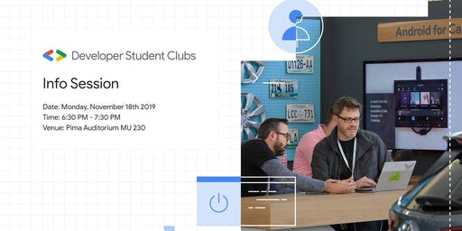 Info Session – Developer Student Club at Arizona State University