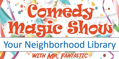 Kenton Library Magic Show tickets