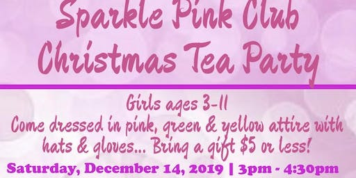Sparkle Pink Club Christmas Tea Party