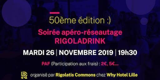 Rigoladrink N°50 - novembre 2019  (Réseautage)