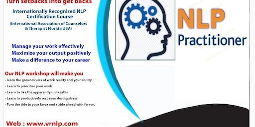 Certified NLP Practitioner Chennai 4 Days Workshop
