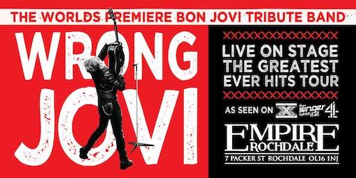 Wrong Jovi - The worlds premier Bon Jovi tribute band