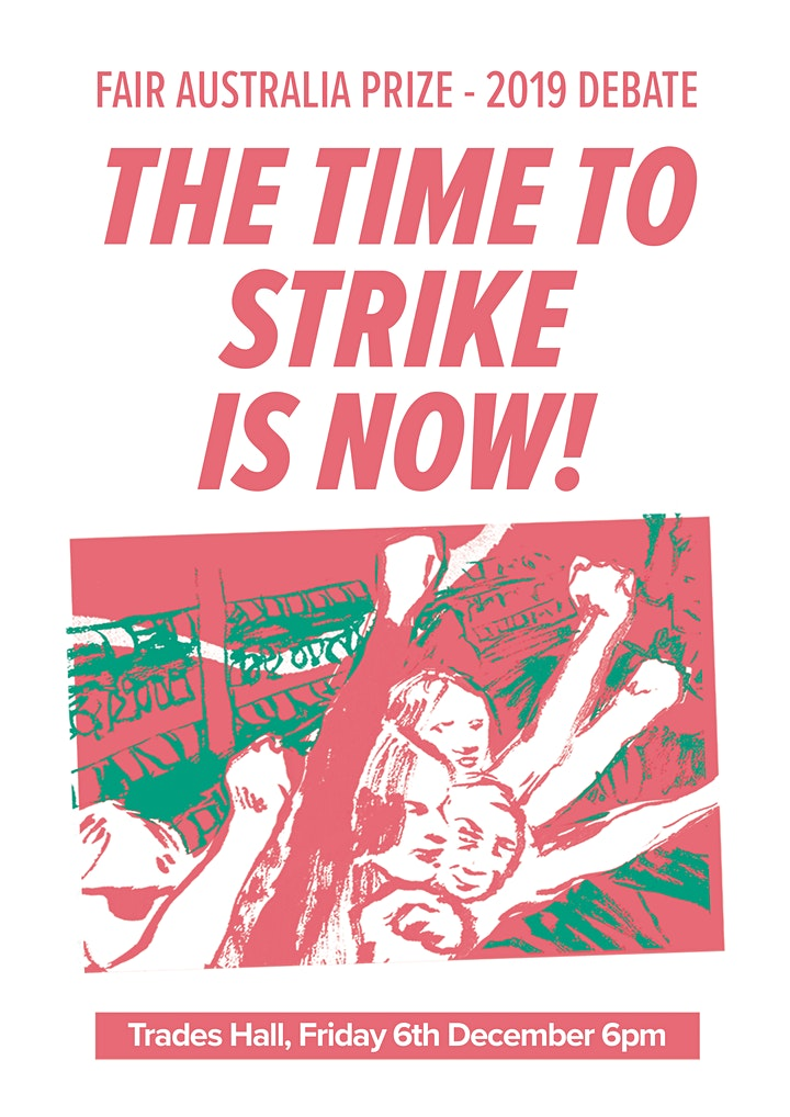 End-of-year debate: 'The time to strike is now!' image
