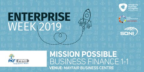 Mission Possible: Business Finance 1-1 Mayfair Business Centre tickets