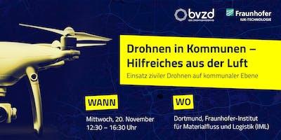 Drohnen in Kommunen – Hilfreiches aus der Luft