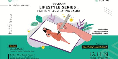 [PAID EVENT] Co-Learn : Lifestyle Series : Fashion Illustrating Basics