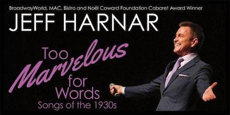 Jeff Harnar tickets