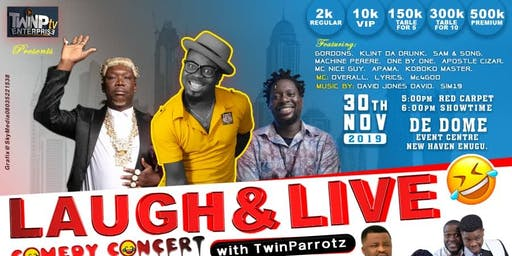 LAUGH AND LIVE COMEDY CONCERT