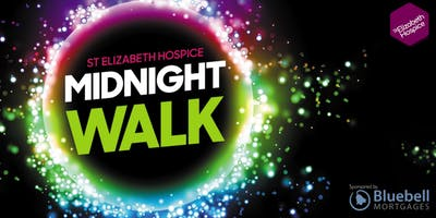 St Elizabeth Hospice Midnight Walk 2020